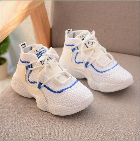 Autumn Boys Shoes Brand Sneakers 2018 New Kids Shoes for Girl Comfortable Baby Sneakers Colorful Children Shoes Sport
