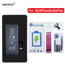 1810/2150/2915/3350mAH Polymer Li-ion Phone Battery For Iphone 6 6P 6SP High Capacity 0 Cycle Replacement Batteries + Free Tools стоимость