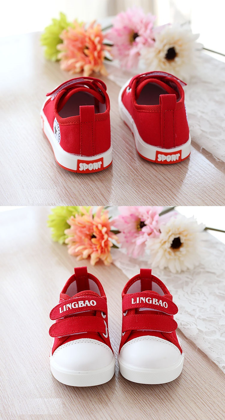 Kids Casual Shoes Autumn Fashion Stars Children Sneakers for Baby boys girls Canvas shoes 17 New Spring size 21~30 6