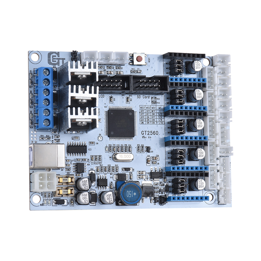 GT2560 3D Printer Controller Board Substitute Mega 2560 Ultimaker Ramps 1 4 Kit for Geeetech