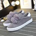 Warm Winter Plush Cute Women Shoes Korean Canvas Shoes Suede Student Flat Breathable Zapatos Mujer X037