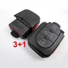 3 + 1 Кнопки Дистанционного Управления Ключ Для Audi A6 4D0 837 231 М 315 МГЦ Для Европы Южной Америки
