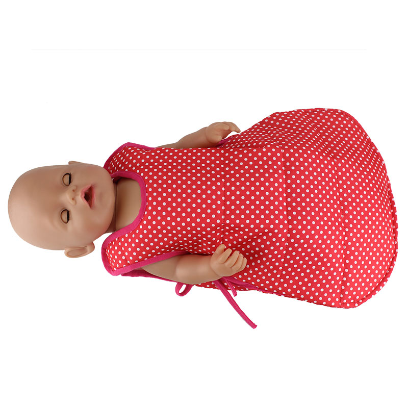 4Color Sleeping Bag Doll clothes Wear fit 43cm Baby Born zapf, Children best Birthday Gift(only sell bag)