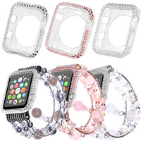 Bling Diamond Silicone Case Cover For Apple Watch Band Series 1 2 3 Women S Agate