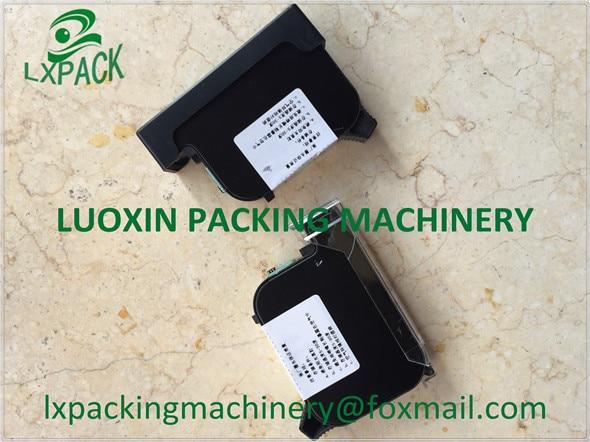 LX-PACK מקורי דיו cartrige כף יד הזרקת דיו מדפסת אוטומטי קידוד סימון הדפסת פתרון תאריך ברקוד סמל (לבן)