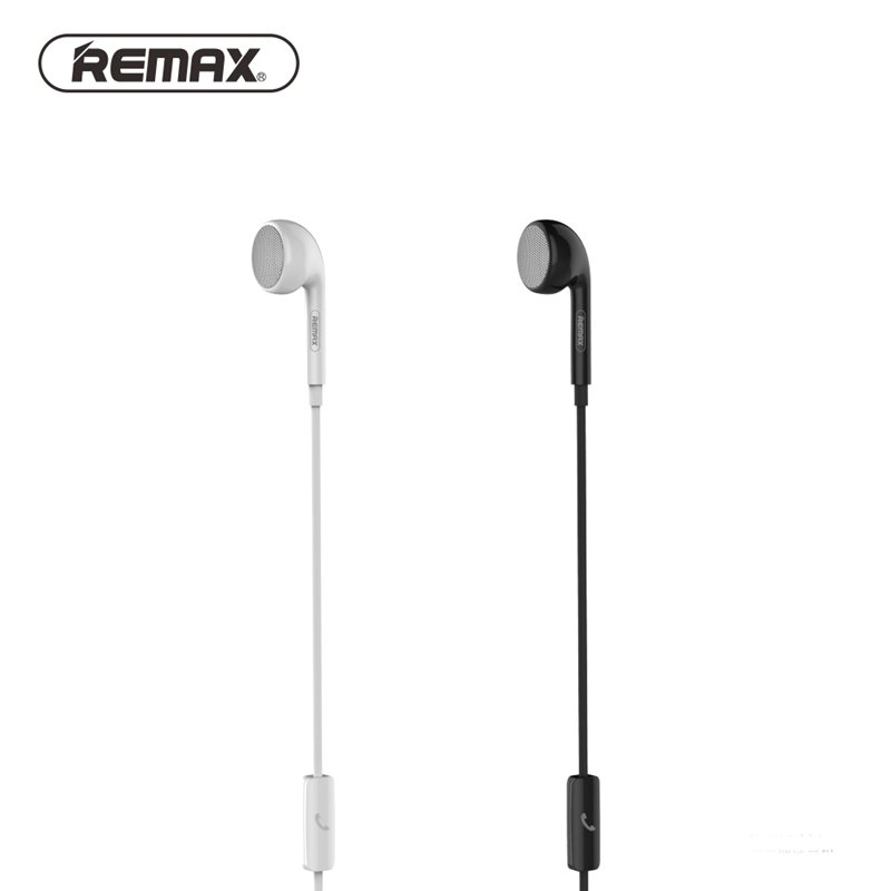 Remax In-Ear Calling Earphone Earbuds Wired Music Stereo Sound With Mic Universal For Samsung For Xiaomi Smart Phones
