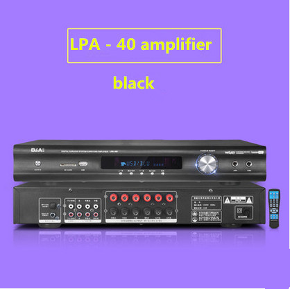 LPA40F / LPA50 600W FIHI AV 5.1 channel home theater Household high - power Bluetooth 4.0 digital HIFI stereo amplifier 2018 lpa50 600w fihi av 5 1 channel home theater bluetooth 4 0 digital audio amplifier with fiber coaxial usb sd lossless player