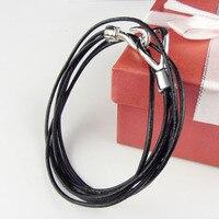 Mens Women Jewelry Real Leather Bracelet Multi-Layers chains Bracelet New Design Leather Bracelets BR-392