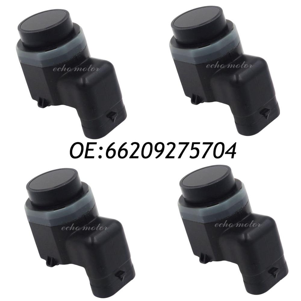 New 4pcs 66209275704 9275704 PDC Parking Sensor Bumper Object Reverse Assist Radar For BMW new set 4 9288230 pdc parking distance sensor reverse assist for bmw 0263013972