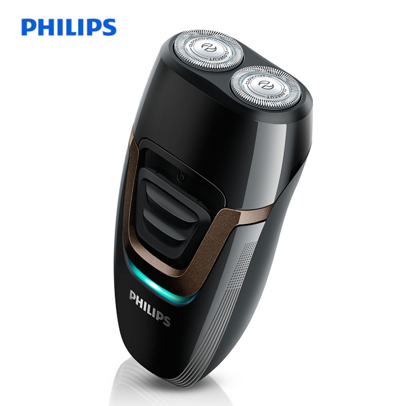 PHILIPS PQ193 Rechargeable Electric Shaver For Men Twin Blade Philips Shaver 110-240V Shaving Machine Beard Trimmer LED Display super max twin blade oдноразовые станки с двойным лезвием 5 шт