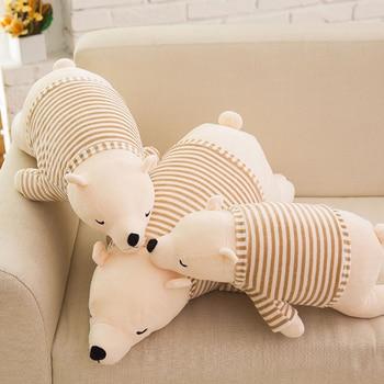 50cmChildren Stuffed Animal Toy Doll Cushion Super Soft Polar Bear Plush Peluches Animal Toy Pillow Kids Birthday Christmas Gift stuffed toy