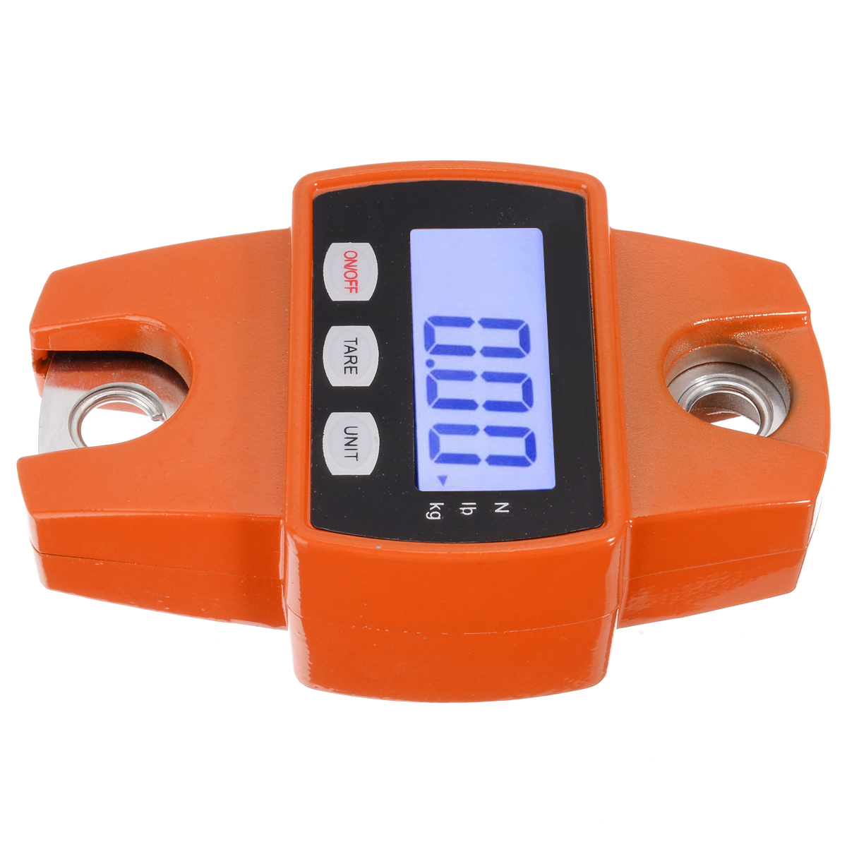 1pc Digital Crane Scale 300kg 600lb Heavy Duty Digital Mini Electronic Hanging Hook Weighing Luggage With LED Display in Weighing Scales from Tools