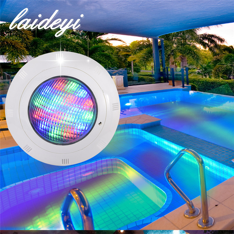 US $46.99 30% OFF|High Quality Swimming Pool Light 18W 24W 36W AC12V Wall  mounted EGB LED Underwater Light IP68 Waterproof Outdoor Underwater Lamp-in  ...