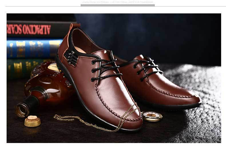 Aliexpress.com : Buy big sale brand oxford shoes men genuine ...