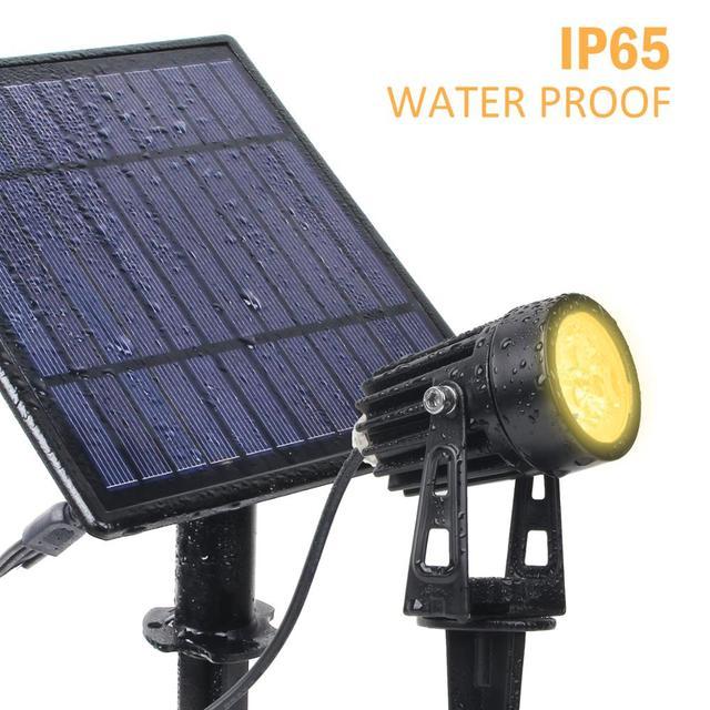 T-SUNRISE LED Solar Garden Light IP65 Waterproof Solar Lamp Outdoors Landscape Lamp For Outdoor Garden Lawn 3