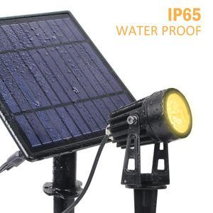Image 3 - T SUNRISE led ソーラーガーデンライト IP65 防水ソーラーランプ屋外横の屋外の庭の芝生
