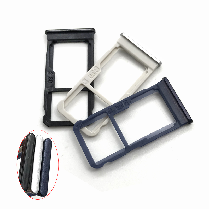 New SIM Card Tray Slot Holder Compatible For Nokia X5 5.86 Inch Black/Blue/Silver Replacement Part