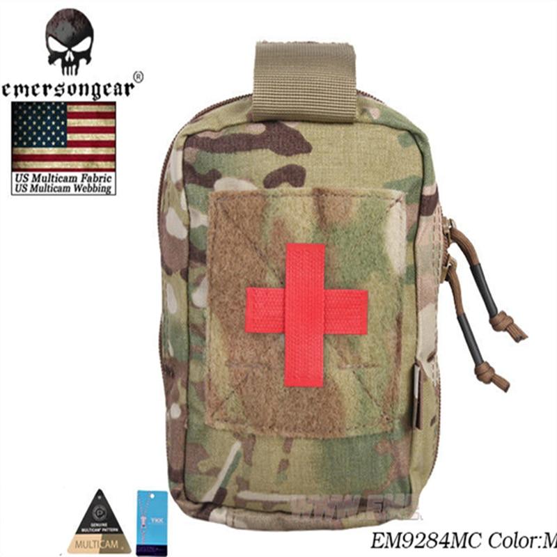 EMERSON EG Style EI Medic Pouch Bag Emerson Molle Military Airsoft Paintball Combat Gear EM9284 Multicam Black CB BK Hunting Bag bag style bag bag bag medical - title=