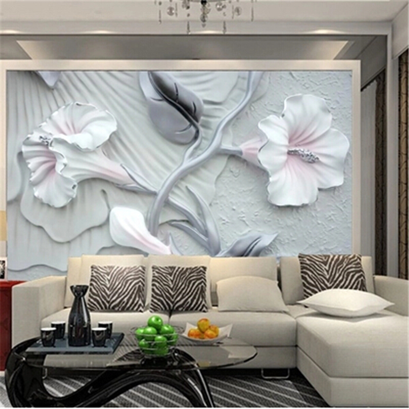 Beibehang Custom 3d Photo Wallpaper New Bedroom Television