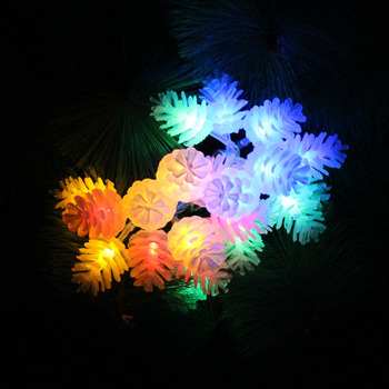 AA Battery Pine Cones String Lights 3M 4M 5M 10M 20M Fairy Garland Decor Light for Party Wedding Holiday Christmas led lights christmas string light led battery light 2m 3m 4m 5m 10m holiday lights wedding led decoration lamp series battery