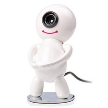 HD camera free drive desktop computer cartoon notebook video head with. phone anti peeping HD camera(China)