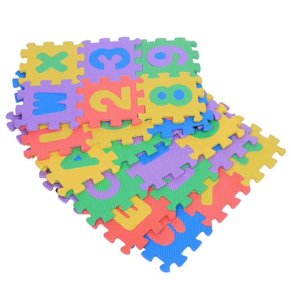 36 шт./компл. мягкой пены EVA играть ковра цифры и буквы детские, для малышей Дети играют ползать коврик игрушки пол младенец площадку puzzle