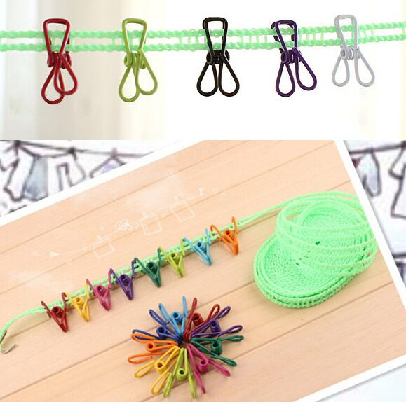 New Arrive Colorful Metal Binder Clips Paper Clip Bag Clip