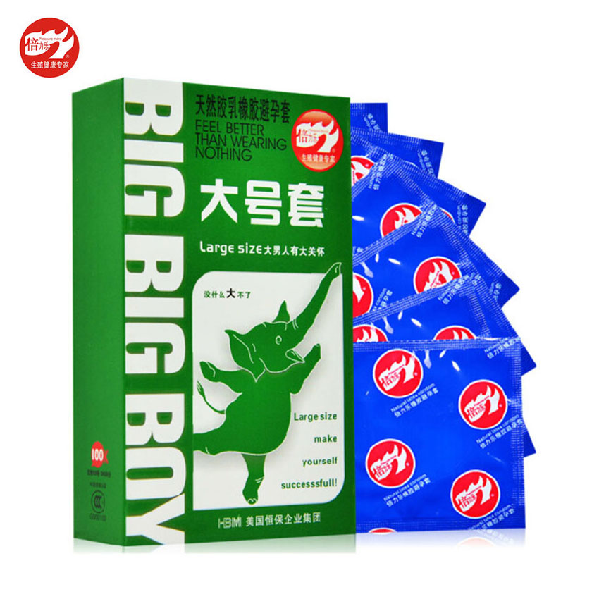 BeiLiLe 30Pcs Large Size Big XXL Condom Men Smooth Women Vaginal Adult Game Sex Toy Sex Products Man