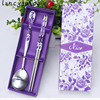 Children S Spoon Fork Chopsticks Products Activities Gift Korean Stainless Steel Two Piece Stainless Steel Tablewas