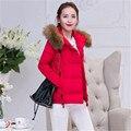 Mulheres jaqueta de inverno, casaco parka mulheres jaquetas e casacos de Alta Qualidade da moda 2016 parkas grossas para as mulheres