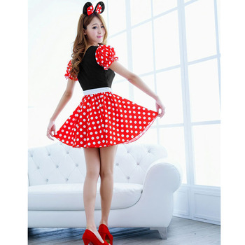 Mini Mouse Cosplay Costume  1