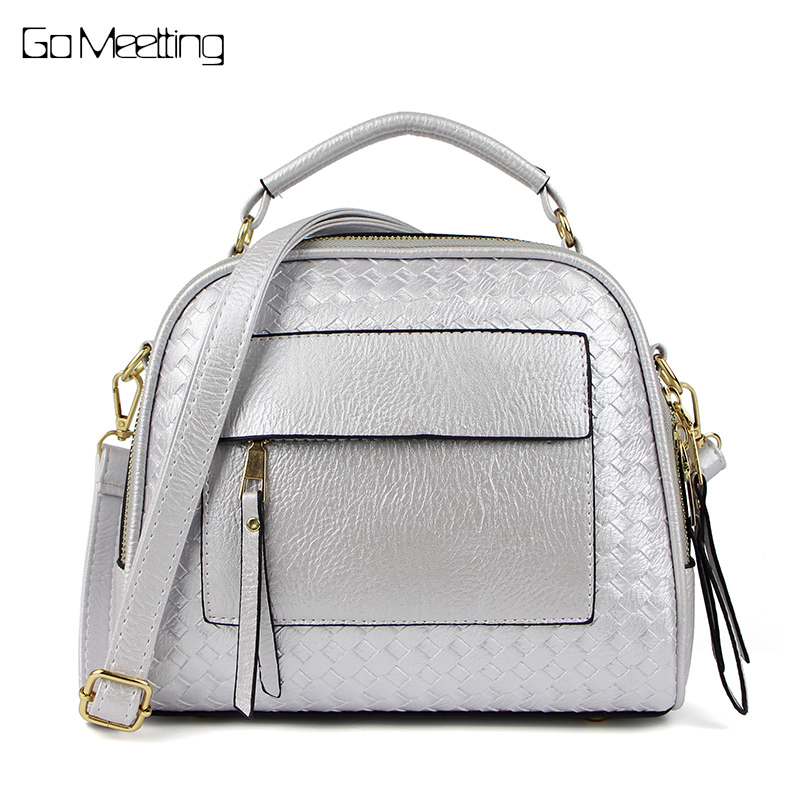 Go Meetting Fashion PU Leather Women Handbag Weave Arrival Shoulder Bags Small Casual women Cross Body Bag Retro Handbags Totes 2016 high quality pu women bag fashion handbags fresh totes cross body bag shoulder bags