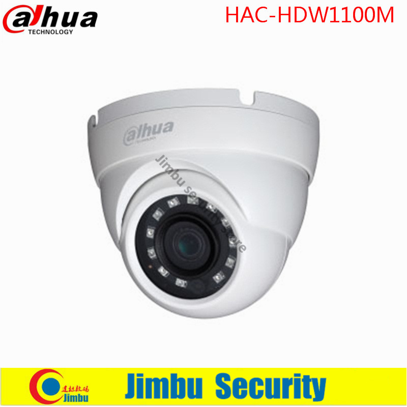 ФОТО Original Dahua 1 MP High Defiantion Night Vision IR30M IP67  Dome CCTV Camera security camera DH-HAC-HDW1100M