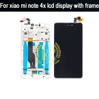 Black White 5 5inch LCD Display Panel With Touch Screen Digitizer Assembly With Frame For Xiaomi