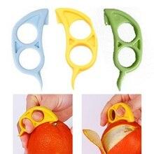 Нож для пилинга в форме мыши, лимоны, апельсиновый цитрусовый нож для снятия ломтерезки, резак для быстрого снятия изоляции, кухонный инструмент