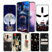 Once Upon A Time Soft Black Silicone Case Cover for OnePlus 6 6T 7 Pro 5G Ultra-thin TPU Phone Back Protective