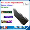 2015 new p13.33 outdoor colorful advertising led sign panel RGB display module size 320mm*160mm led screen billboard led modules
