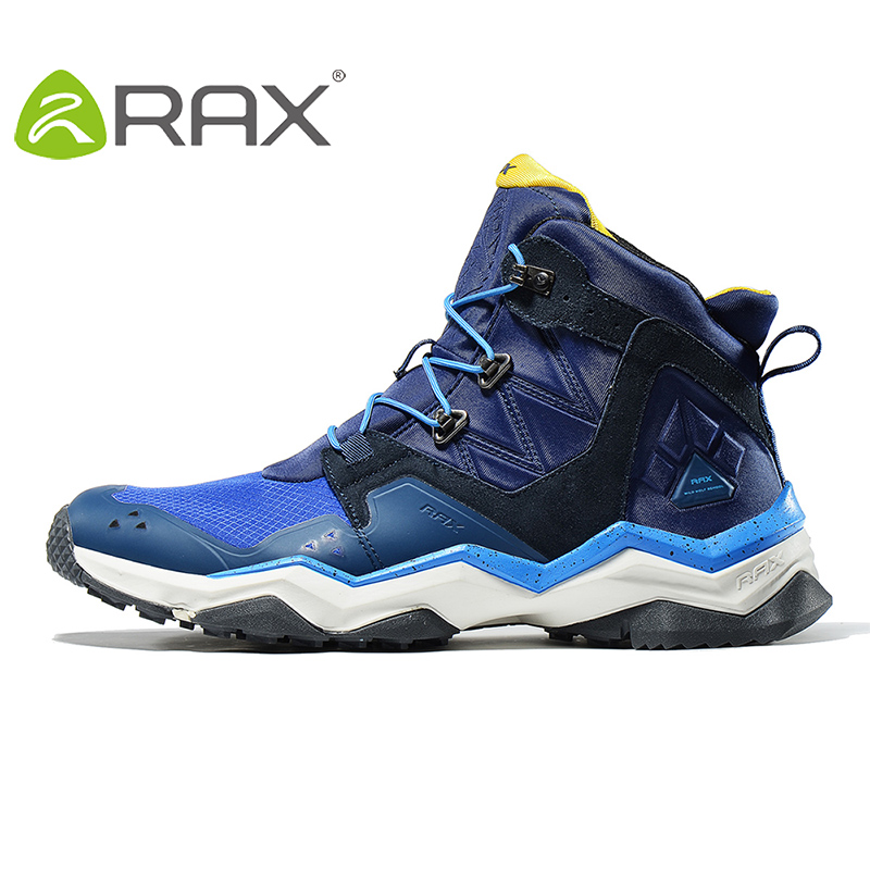 Rax 2017 New Winter Surface Waterproof Hiking Shoes For Men and Women Outdoor Breathable Hiking Boots Warm Outdoor Hiking Boots