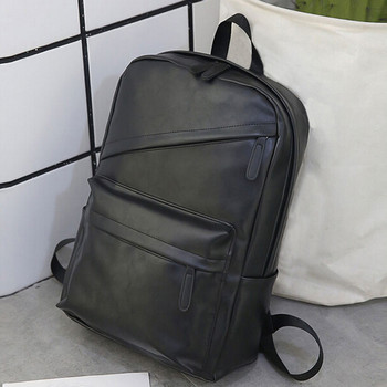 Mens Business Leather Backpack