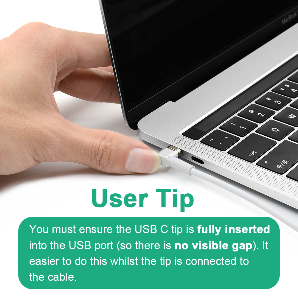 Magnetic USB type C Adapter USB 87W Quick Charge For Macbook Nexus 5X 6P OnePlus 2 3 Fast Charging Magnet USB-C Cable Adapter