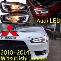Mitsubish Lancer Headlight 2008 2015 Fit For LHD Free Ship Lancer Fog Light 2ps Se 2pcs