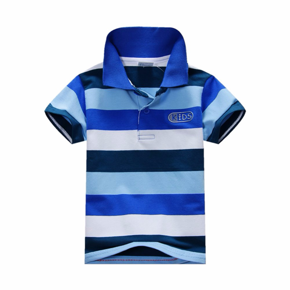 New-Summer-1-7Y-Baby-Children-Boys-Striped-T-shirts-Kids-Tops-Tee-Polo-Shirts-Clothing-3