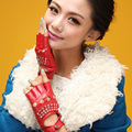 women driving fingerless Five-finger half palm gloves sexy pole dancing  rivet backless leather hot  Mittens