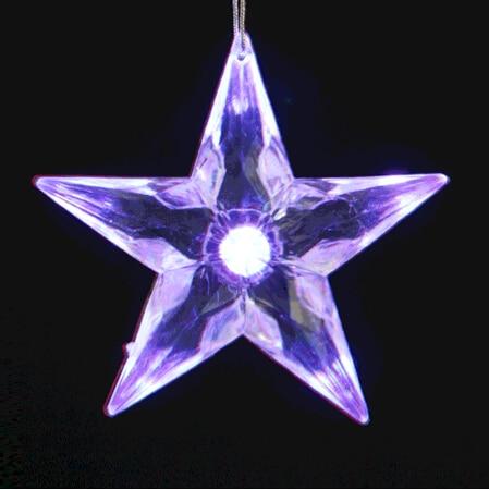 Led Christmas Star Tree Topper