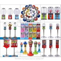 European People France Like High Quality Cheap Price Coin Operated Games Gumball Capsule Toy Vending Machine