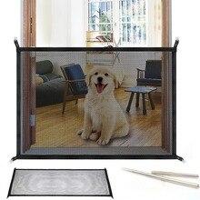 Люк для собаки гениальный сетки Magic Pet ворота для товары собак Безопасный гвардии и установить собака защитный кожух собака заборы дропшиппинг