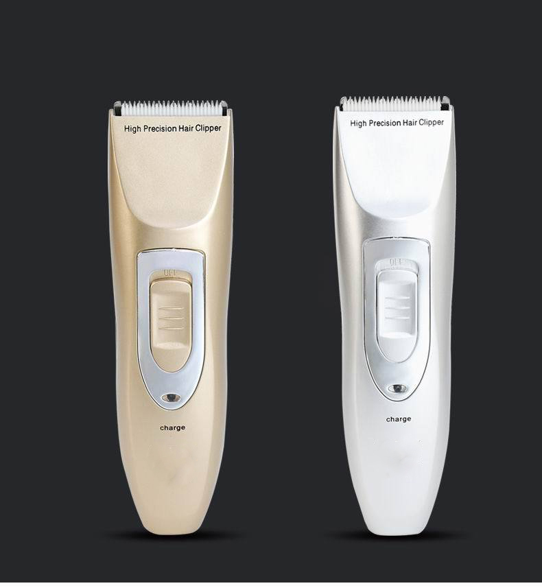 New Professional hair clipper lithium battery titanium ceramic blade Rechargeable Hair Trimmer hair cutting machine extra battery titanium blade brand
