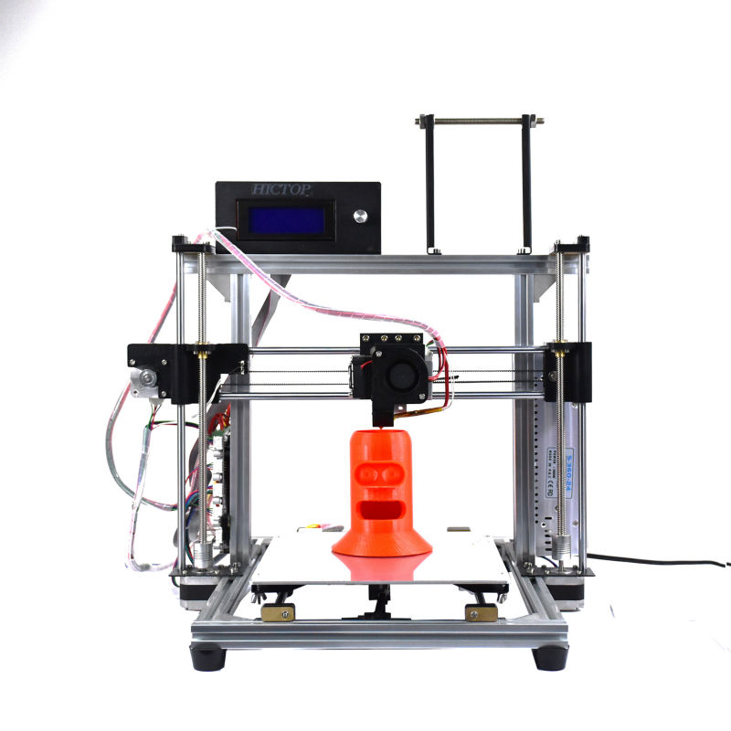 HICTOP Desktop 3D Printer Reprap Prusa I3 Full Aluminum Frame with the Function of Filament Control