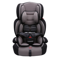 Children Car Safety Seat Baby Sitting Chair Safety Carseat Isofix Hard Interface Adjustable Sitting and Lying Kids Booster Seat