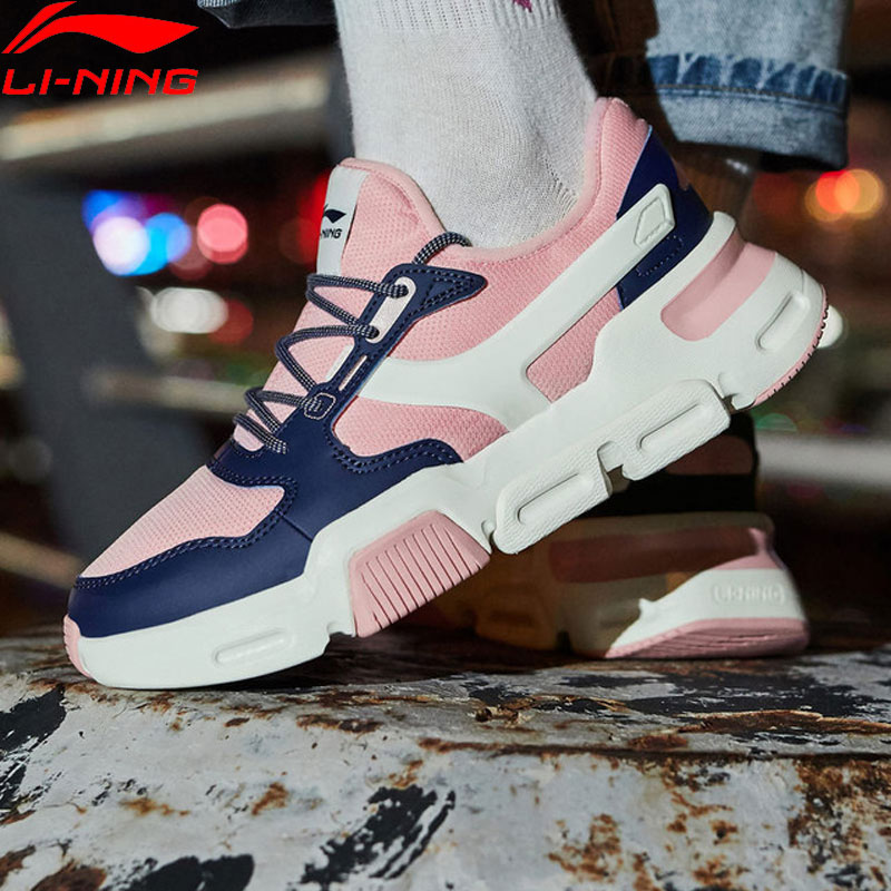 Li-Ning Womens MARK Classic Lifestyle Shoes Wearable Anti-slip Support Retro Sneakers LiNing Sport Leisure Shoes AGCN274 YXB250Li-Ning Womens MARK Classic Lifestyle Shoes Wearable Anti-slip Support Retro Sneakers LiNing Sport Leisure Shoes AGCN274 YXB250